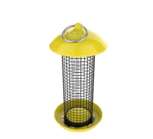 Stokes Select Thistle Finch Screen Bird Feeder Perspective: front