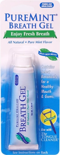 Pureline Oralcare  Breath Gel™ Concentrated Mouthwash   Minty Fresh Perspective: front