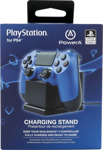 Power A PlayStation PS4 Charging Stand Perspective: front