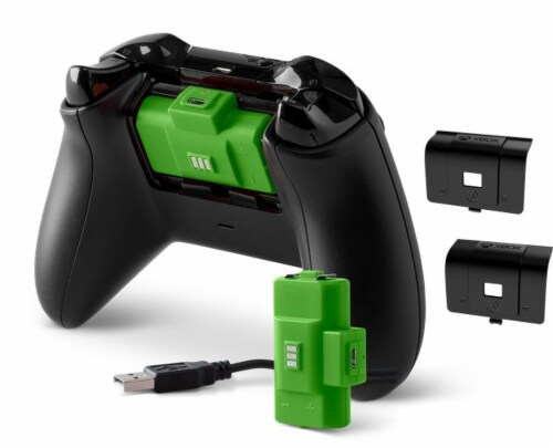 Power A Xbox Play and Charge Kit Perspective: front