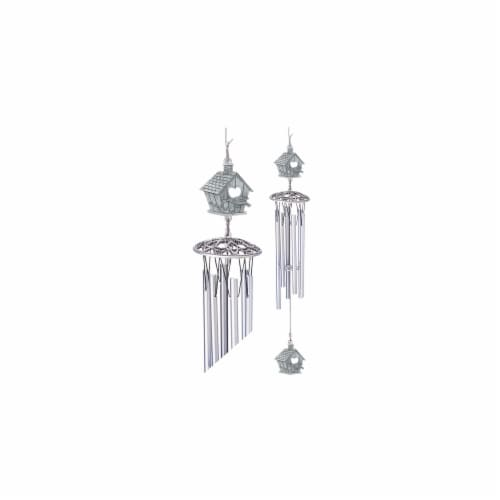 Heritage Metalworks WC4077 Birdhouse Wind Chime Perspective: front