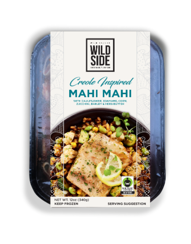 Wild Side Creole-Inspired Mahi Mahi with Herb Butter Perspective: front