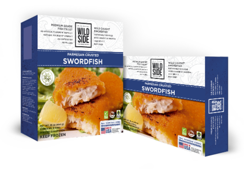 Wild Side Parmesan Crusted Swordfish Perspective: front