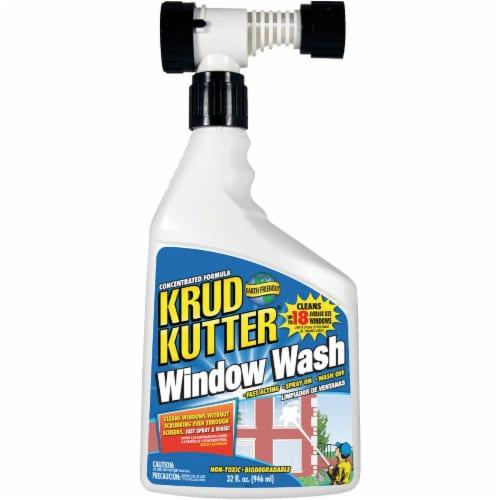 Krud Kutter No Scent Window Cleaner 32 oz. Liquid - Case Of: 4; Perspective: front