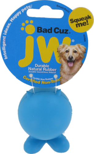 JW Small Bad Cuz Dog Toy Perspective: front