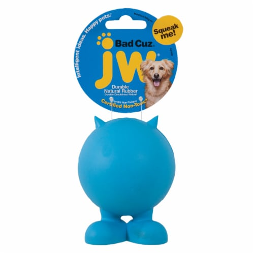 JW Pet Company Medium Bad Cuz Dog Toy Perspective: front