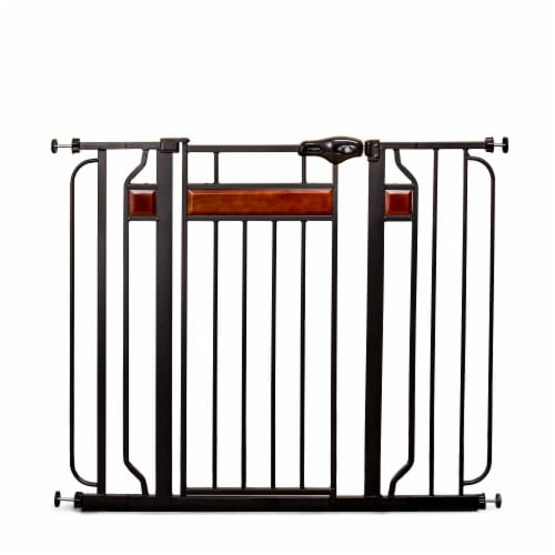 Regalo Home Accents Extra Tall Metal Baby Safety Gate Perspective: front