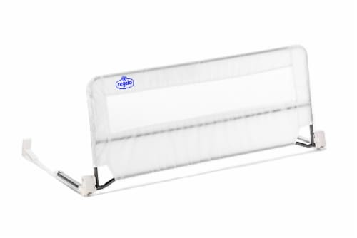 Regalo Swing Down Bed Rail - White Perspective: front