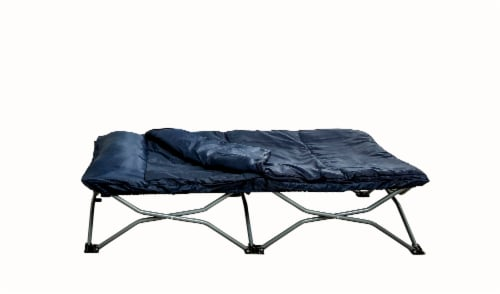 Regalo Deluxe My Cot with Sleeve - Navy Perspective: front