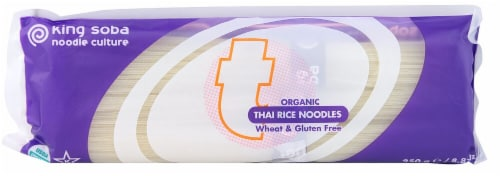 King Soba  Organic Thai Rice Noodles Perspective: front