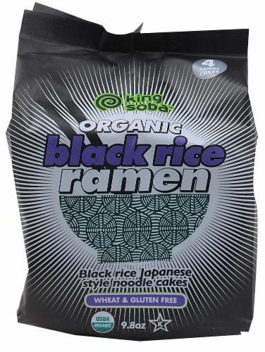King Soba  Organic Black Rice Ramen Perspective: front