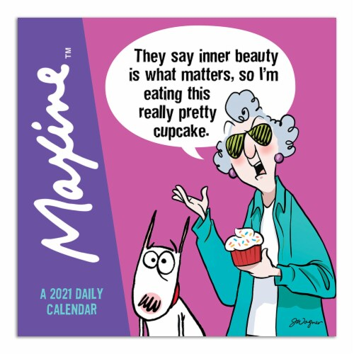 2021 Maxine Mini Calendar by TF Publishing Perspective: front