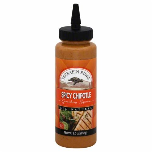 Terrapin Ridge Spicy Chipotle Garnishing Sauce Perspective: front