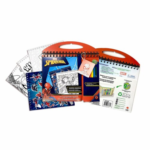 ECO-Coloring Pencils and Activity Pad - Marvel Spider-Man Perspective: front