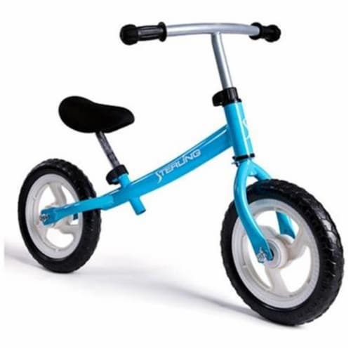 Wonka Woo Toys 4320LBL 12 in. Balance Bike in Light Blue Perspective: front