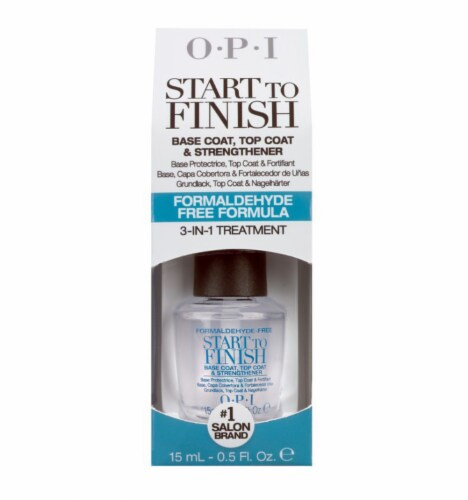 OPI Start To Finish 3-in-1 Nail Treatment Perspective: front