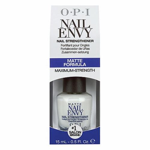 OPI Nail Envy Matte Formula Nail Strengthener Perspective: front
