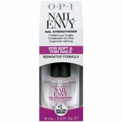 OPI Soft & Thin Nail Envy Reparative Formula Perspective: front