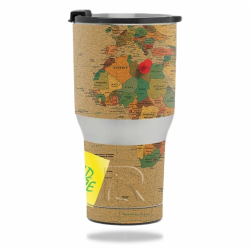 MightySkins RTTUM2017-World Peace Skin for RTIC 20 oz Tumbler 2017 - World Peace Perspective: front