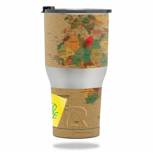 MightySkins RTTUM3017-World Peace Skin for RTIC Tumbler 30 oz 2017 - World Peace Perspective: front