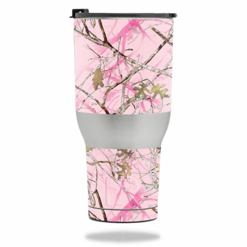 MightySkins RTTUM4017-Conceal Pink Skin for RTIC Tumbler 40 oz 2017 - Conceal Pink Perspective: front
