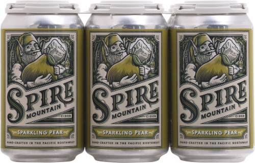 Spire Mountain Pear Cider Perspective: front