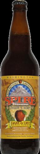 Spire Mountain Dark & Dry Cider Perspective: front