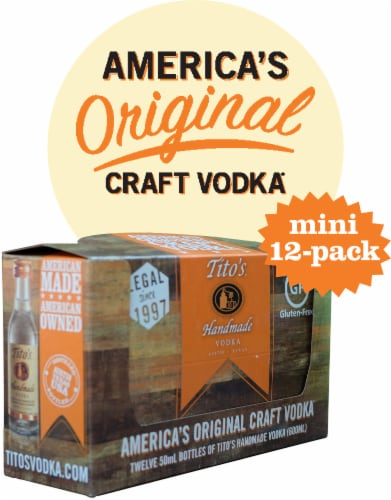 Tito's Handmade Vodka Mini Pack Perspective: front