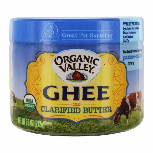 Purity Farm Ghee (Clarified Butter), 7.5-Ounce Perspective: front