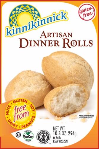 Kinnikinnick Artisan Dinner Rolls Perspective: front