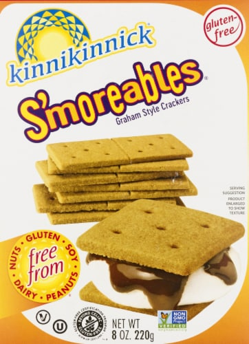 Kinnikinnick S'moreables Graham Style Crackers Perspective: front