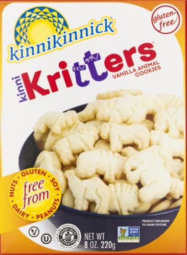 Kinnikinnick KinniKritters Animal Cookies Perspective: front
