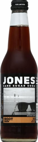 Jones Soda Co. Root Beer Perspective: front
