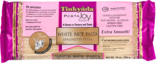 Tinkyada White Rice Spaghetti Perspective: front