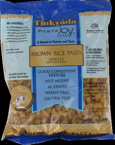 Tinkyada Brown Rice Pasta Shells Perspective: front