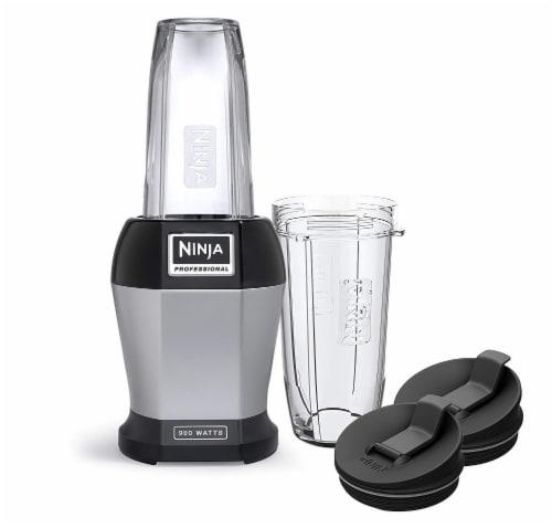 Ninja® Nutri Ninja Pro Blender - Gray/Black Perspective: front
