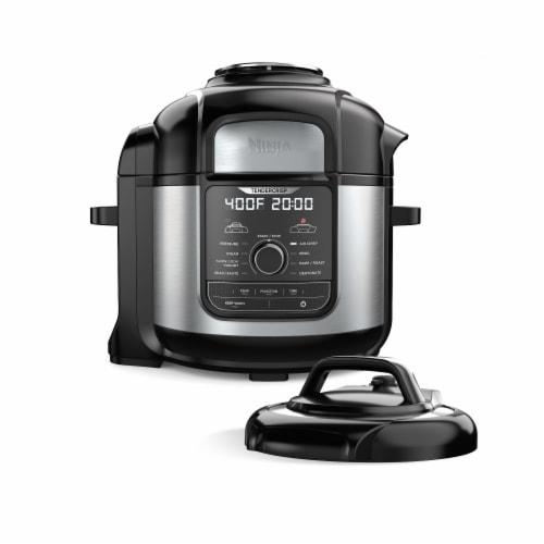 Ninja® Foodi 9 in 1 Deluxe XL Pressure Cooker & Air Fryer Perspective: front