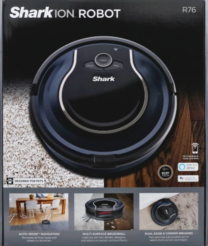 Shark® RV761 Ion Robot Vacuum Perspective: front