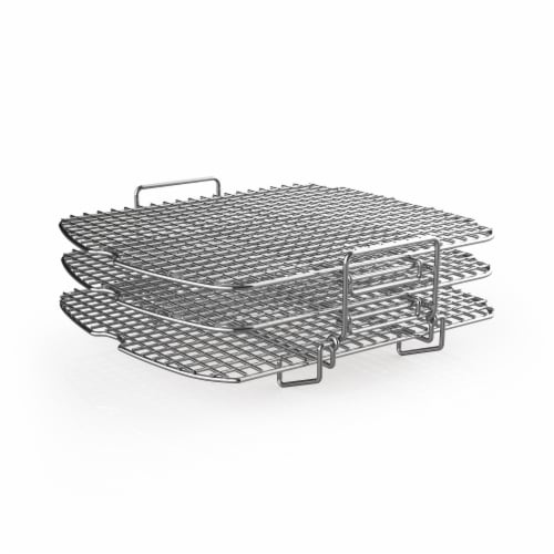 Ninja® Foodi Grill Dehydrator Stand - Silver Perspective: front