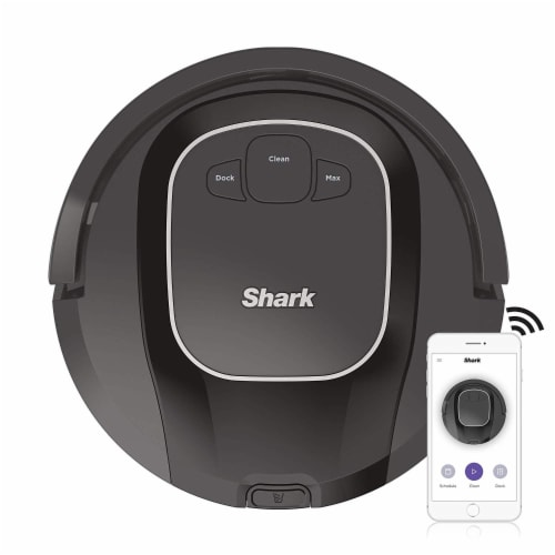 Shark® ION Robot Vacuum with Wi-Fi Perspective: front