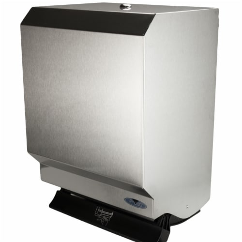 Frost Products 109-50S Control Roll Towel Dispenser - Stainless Steel Perspective: front