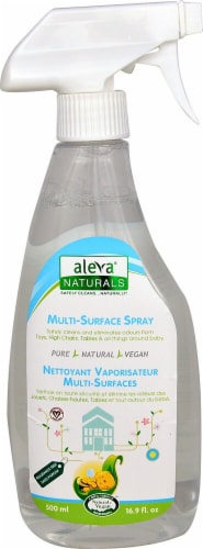 Aleva Naturals  Multi-Surface Spray Fragrance Free Perspective: front