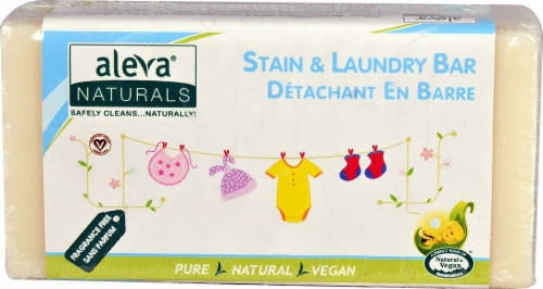Aleva Naturals Stain & Laundry Bar Perspective: front