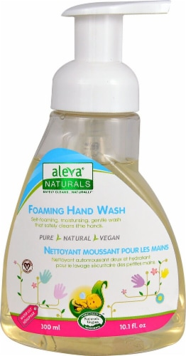 Aleva Naturals  Foaming Hand Wash Water Lily Perspective: front