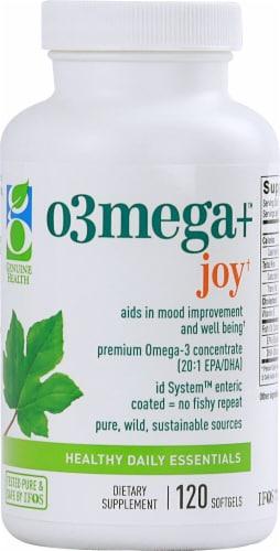Genuine Health  O3Mega plus™ Joy Perspective: front