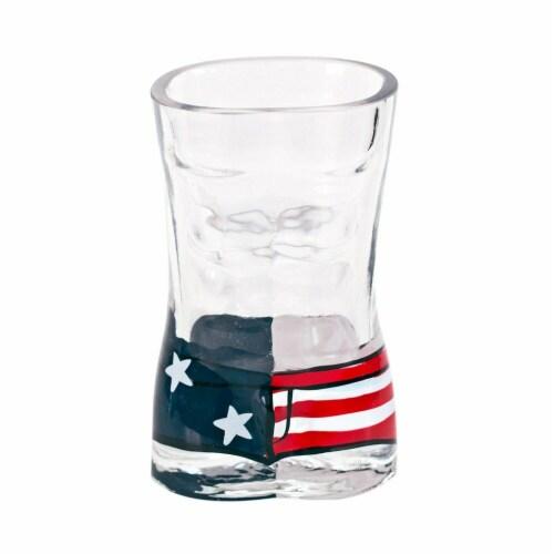 Patriotic 30944 Patriotic USA Men Board Shorts Shot Glass Perspective: front