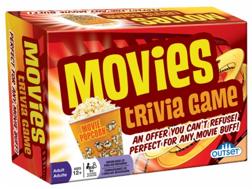 Outset Media Movie Trivia Game Perspective: front