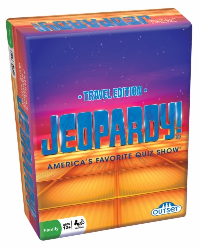 Outset Jeopardy! Travel Edition Perspective: front