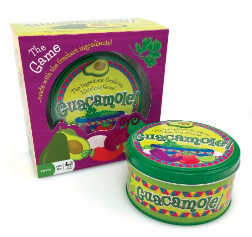 Outset Media® Guacomole! Matching Game Perspective: front