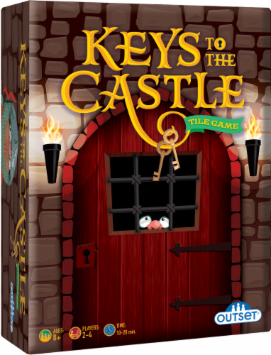 Outset Media® Keys to the Castle Tile Game Perspective: front